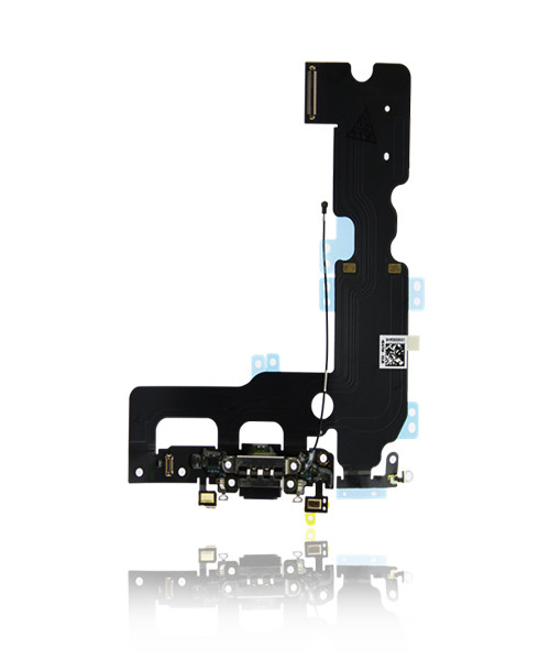 iPhone 7 Plus Charger Port Headphone Jack Replacement in Black