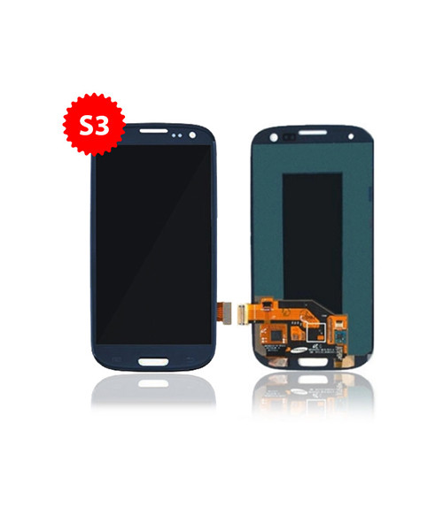 Lcd Replacement for Samsung Galaxy S3 Without Frame in Blue