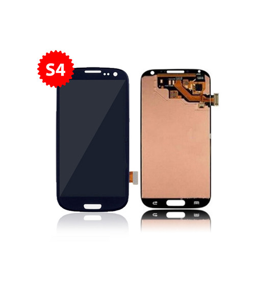 Lcd Replacement for Samsung Galaxy S4 Without Frame in Blue