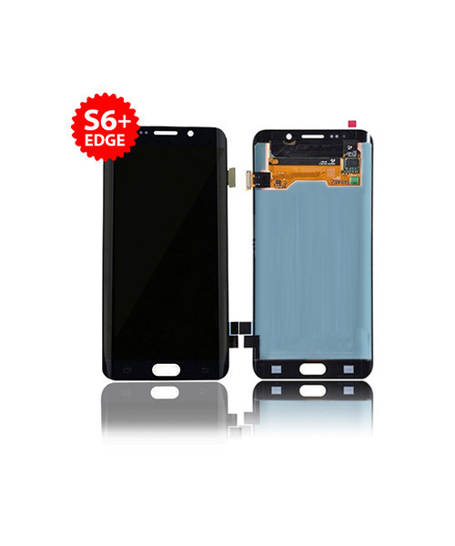 Lcd Replacement for Samsung Galaxy S6 Edge Plus Without Frame in Blue