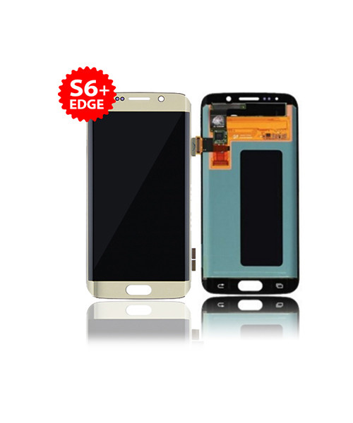 Lcd Replacement for Samsung Galaxy S6 Edge Plus Without Frame in Gold