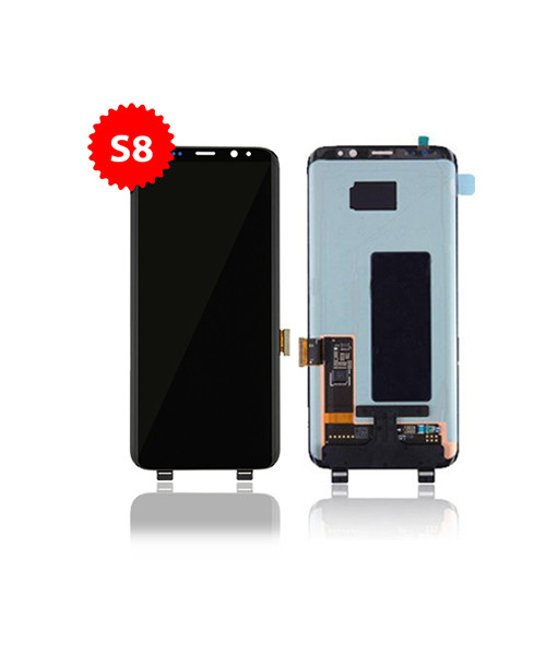Lcd Replacement for Samsung Galaxy S8 Without Frame in Black