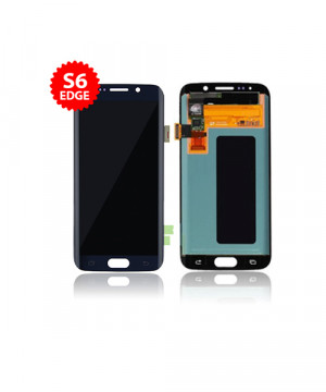 Lcd Replacment for Samsung Galaxy S6 Edge Without Frame in Black