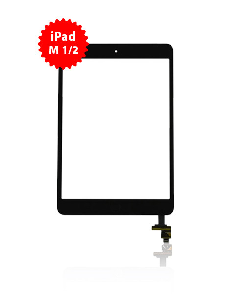 Digitizer Replacement for iPad Mini 1/2 Premium Quality in Black