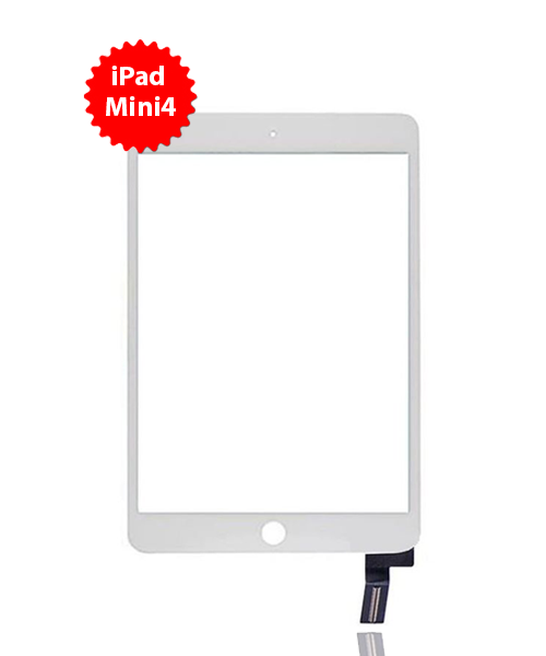 Digitizer Replacement for iPad Mini 4 in White