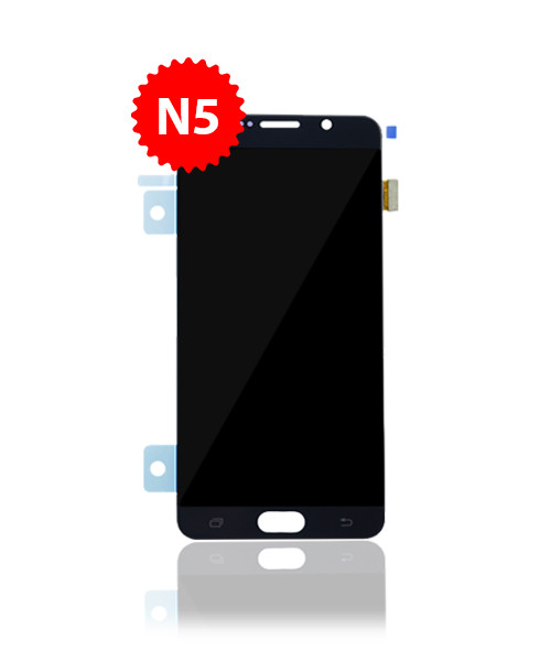 Renewed LCD Without Frame for Samsung Galaxy Note 5 in Black