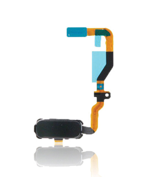 Samsung Galaxy S7 Home Button Flex Cable Replacement in Black.