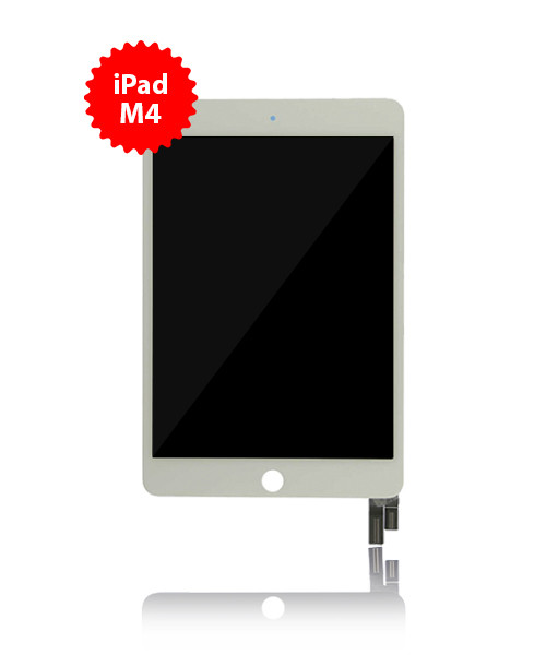 LCD and Digitizer Replacement for iPad Mini 4 White