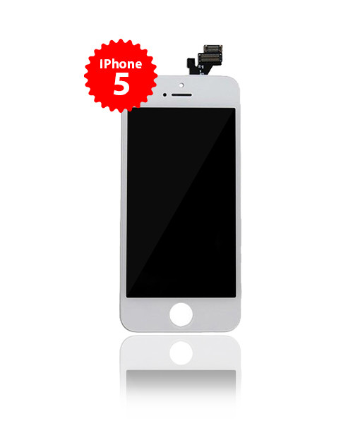 LCD Replacement for iPhone 5 Premium Plus White
