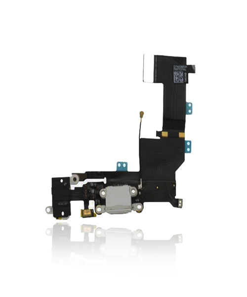 iPhone 5s Charger Port Headphone Jack Replacement in White