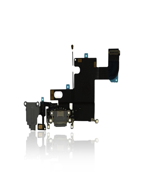 iPhone 6 Charger Port Headphone Jack Replacement in Black