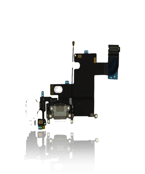 iPhone 6 Charger Port Headphone Jack Replacement in White