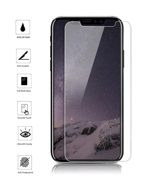 Tempered Glass for iPhone X (10 Pack)