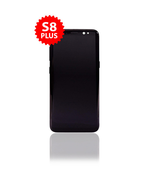 Renewed LCD Without Frame for Samsung Galaxy S8 Plus in Black color