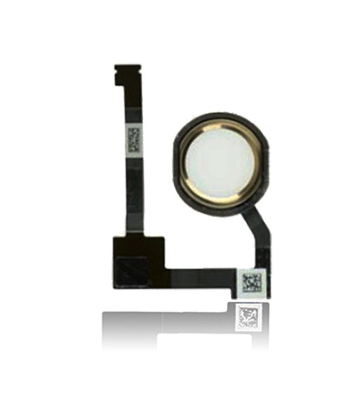 Home Button Flex Cable Replacement for iPad Mini 4 in Gold.