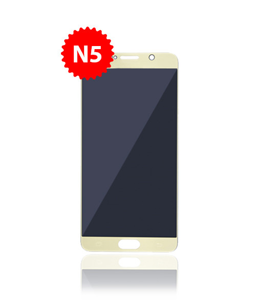 Renewed LCD Without Frame for Samsung Galaxy Note 5 in Gold