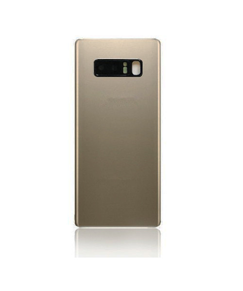 Samsung Galaxy Note 8 Back Battery Cover Replacement with Camera Lens in Gold