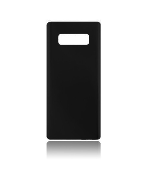 Samsung Galaxy Note 8 Back Battery Cover Replacement with Camera Lens in Midnight Black