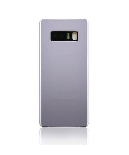Samsung Galaxy Note 8 Back Battery Cover Replacement with Camera Lens in Silver