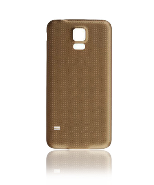 Samsung Galaxy S5  Back Battery Cover Replacement in Gold.