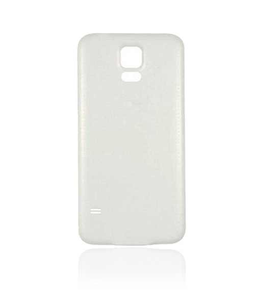 Samsung Galaxy S5  Back Battery Cover Replacement in White.