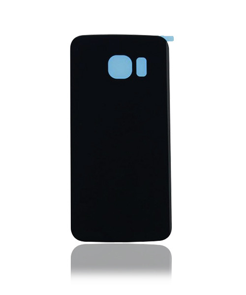 Samsung Galaxy S6 Edge Back Battery Cover Replacement in Black.
