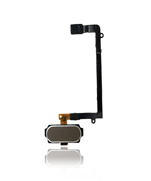 Samsung Galaxy S6 Edge  Home Button Flex Cable Replacement in Gold.