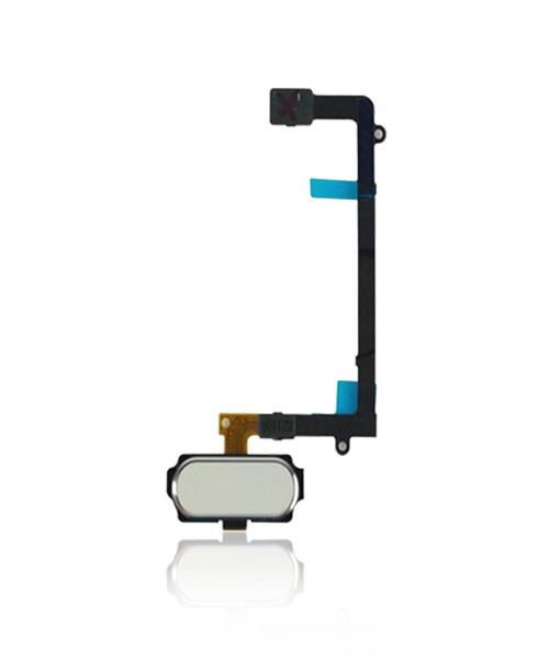 Samsung  Galaxy S6 Edge Home Button Flex Cable Replacement in White.
