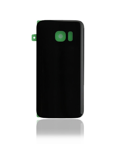 Samsung Galaxy S7 Back Battery Cover Replacement in Black.
