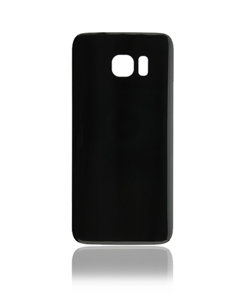 Samsung Galaxy S7 Edge Back Battery Cover Replacement in Black.