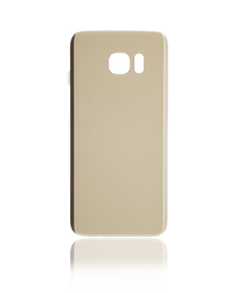 Samsung Galaxy S7 Edge Back Battery Cover Replacement in Gold.