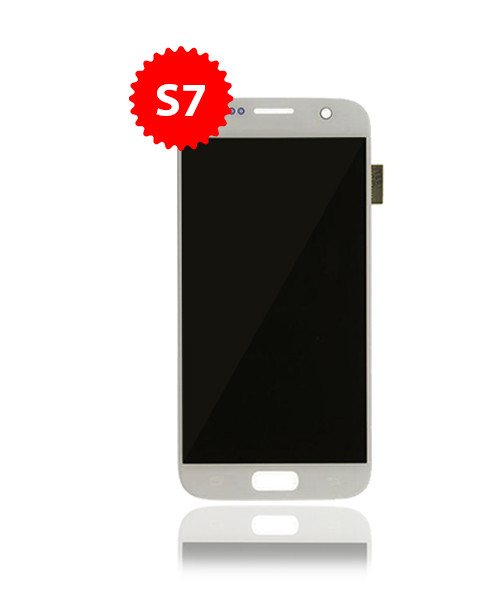 Renewed LCD Without Frame for Samsung Galaxy S7  in White