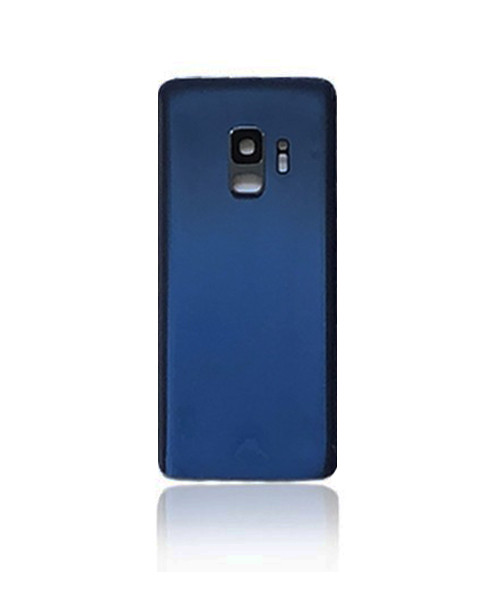Samsung Galaxy S9 Back Battery Cover Replacement with Camera Lens in Coral Blue