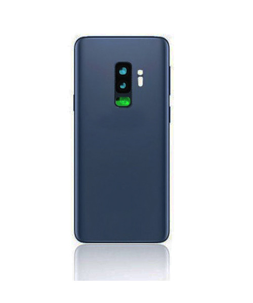 Samsung Galaxy S9 Plus Back Battery Cover Replacement with Camera Lens in Coral Blue