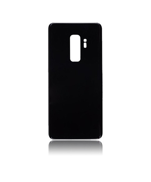 Samsung Galaxy S9 Plus Back Battery Cover Replacement with Camera Lens in Midnight Black