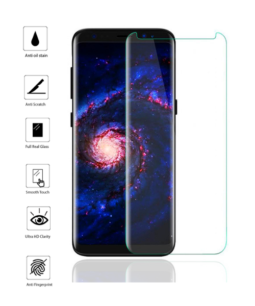 Tempered Glass for Samsung S8 Plus.