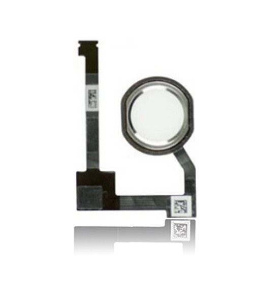 Home Button Flex Cable Replacement for iPad Mini 4 in Silver.